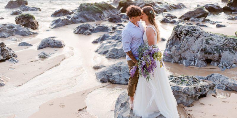 Hochzeitsshooting am Meer von Monika Wittmann Photography